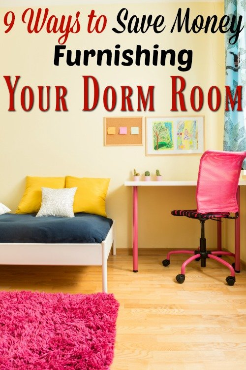 9 Ways to Save Money Furnishing a College Dorm Room Essentials