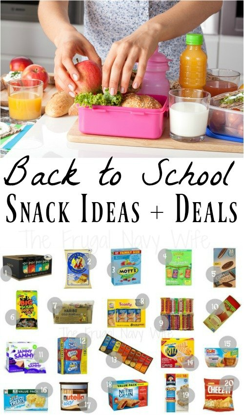 Back To School Snacks That Make Great Lunch Ideas For Kids