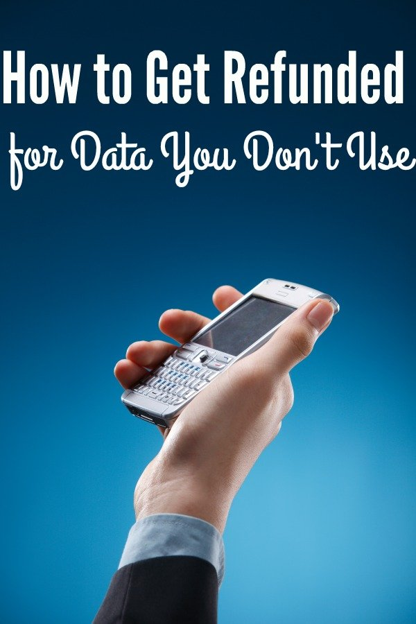 Get Refunded for Cell Phone Data You Don't Use