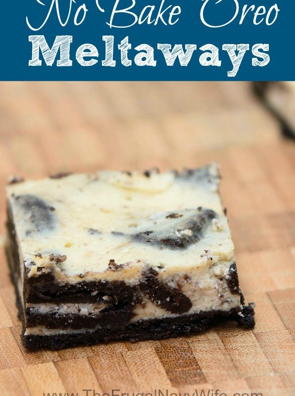 Oreo Dessert – No Bake Oreo Meltaways Recipe