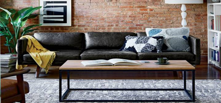 West Elm Modern Living Room for Less