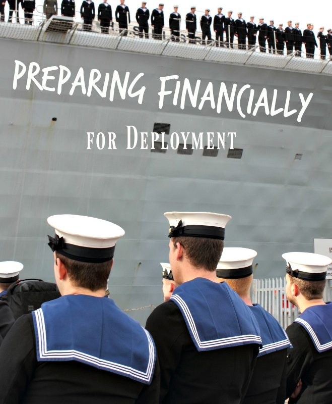 Preparing Financially for Military Deployment