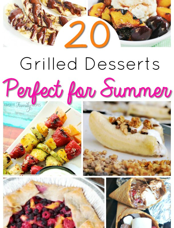 Easy Summer Desserts – Grilled Desserts