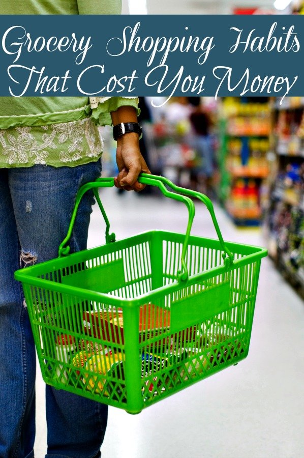 Did you know your grocery shopping habits could be costing you big money? See how and how to break these habits to save you money!