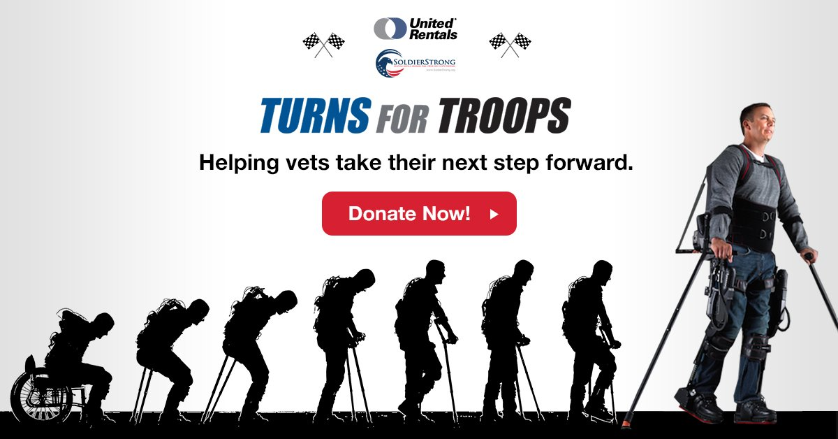 United Rentals and SoldierStrong Partner for Turns for Troops