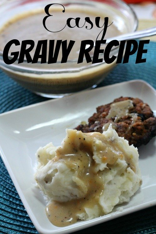 Easy gravy recipe my best gravy recipe for How to make beef gravy from drippings