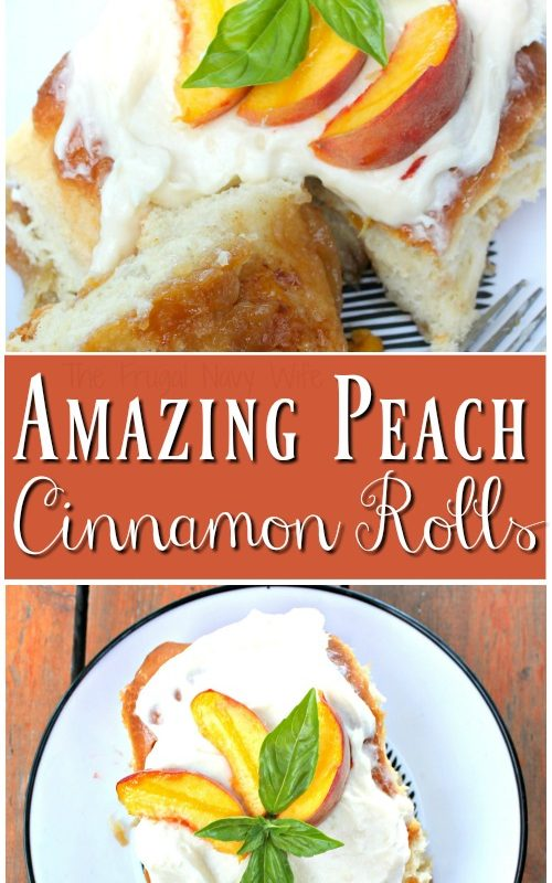 Amazing Peach Cinnamon Rolls Recipes