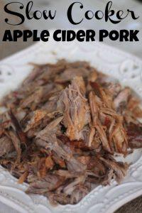 Slow Cooker Apple Cider Pork – Easy Weeknight Meal