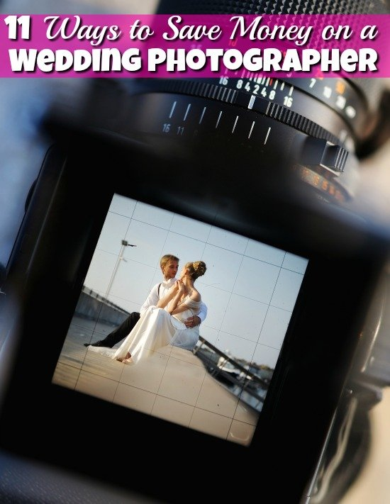 On a tight budget for your wedding? Then you need some great cheap wedding ideas and these 11 ways to save money on your wedding photographer are a must!