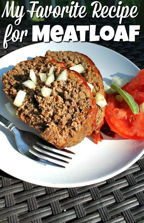 Easy Meatloaf Recipe – My Favorite Recipe for Meatloaf