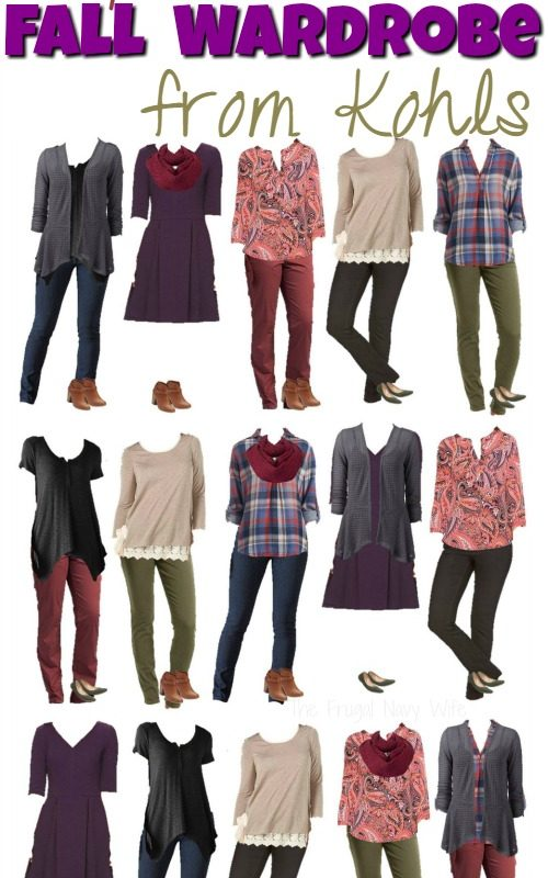 Fall Fashion – My Favorite Fall Capsule Wardrobe from Kohls