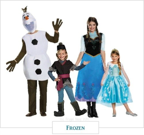 Now that I have kids I love these Disney Family Halloween costume ideas for us as  sc 1 st  The Frugal Navy Wife & Disney Family Halloween Costume Ideas - Frozen Little Mermaid u0026 More!