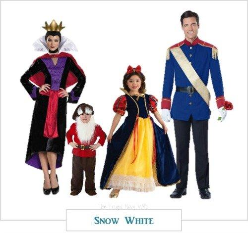 Disney Family Halloween Costume Ideas - Cinderella, Frozen, Snow ...