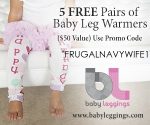 5 Free Pair Baby Leggings