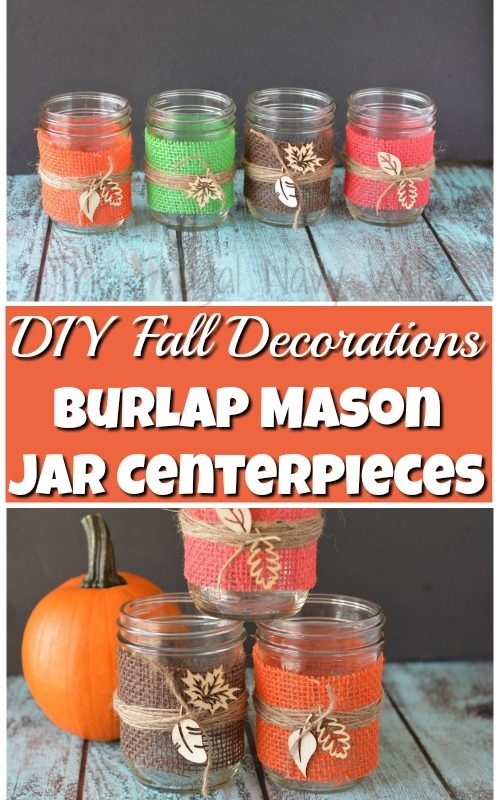 Easy home decorating ideas on the frugal navy wife for Diy fall mason jars