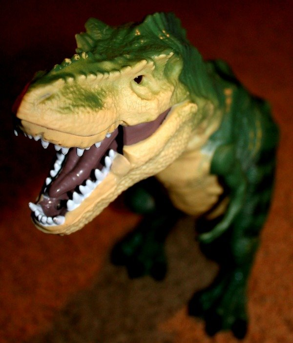 Discovery Kids Remote Control Rc T Rex Dinosaur Electronic Toy Action Figure Moving Walking Robot