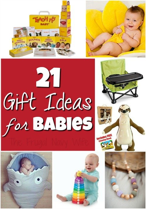 Holiday Gift Guide Gifts for Babies – 21 Perfect Baby Gift Ideas