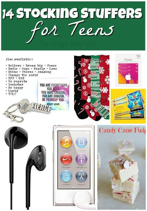 Stocking stuffer ideas 14 stocking stuffers for teens Stocking stuffer ideas 2016