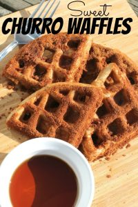 The Best Churros Recipe – Sweet Churro Waffles Recipe