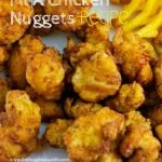 If your family loves Chick Fil A as much as mine you are probably looking for this Copycat Chick Fil A Chicken Nuggets Recipe. You can't tell it's a copycat! #thefrugalnavywife #copycatrecipe #chickfila #nuggets #chickfilarecipe #easyrecipe   Easy Weeknight Meal   Easy Recipe   Yummy Recipes   Copycat Recipe   Chick Fil A Recipe   Lunch Recipe   Chick Fil A Nuggets Recipe