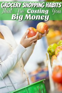 Grocery Shopping Habits That Are Costing You Big Money