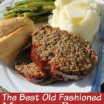 This old fashioned meatloaf recipe has been passed down for a few generations and is still one of my favorites meatloaf recipes ever! See why! #Meatloaf #FrugalNavyWife #Recipes #OldFashionRecipe   Meatloaf Recipe   Beef Recipes   Dinner Recipes   Old Fashioned Recipes   Tried and True Recipes   Popular Recipes   Easy Meatload Recipes