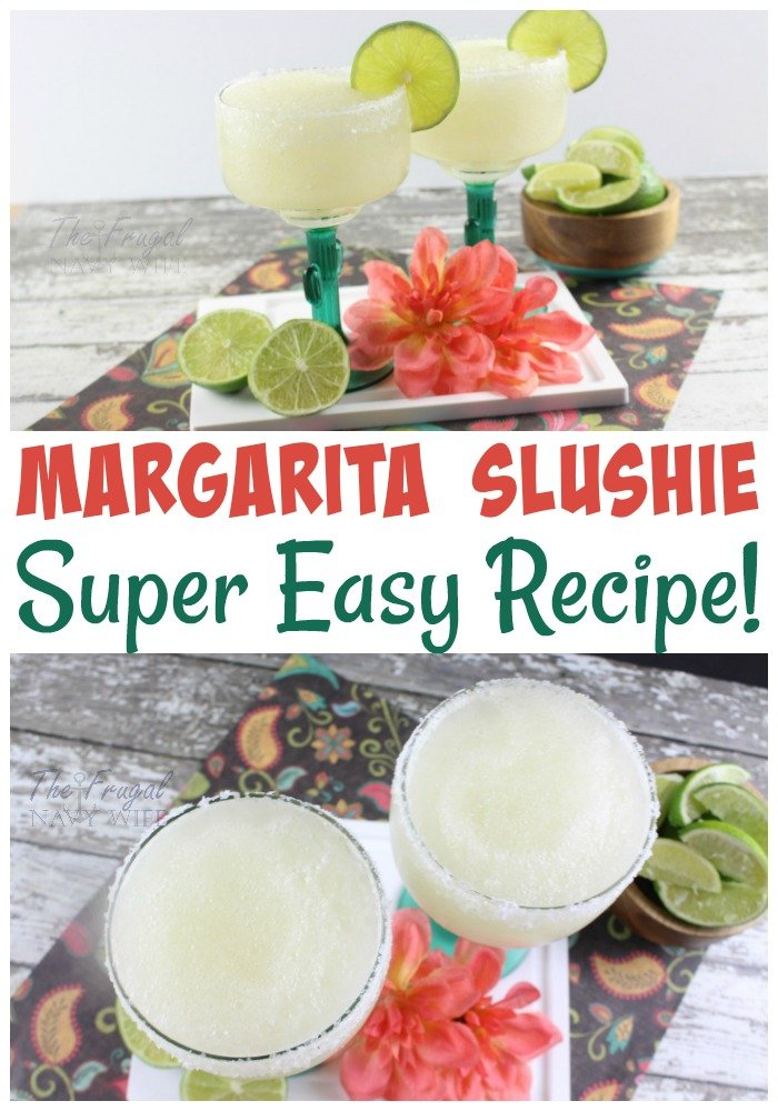 If you are on the hunt for the best margarita recipe then look no further! This slushie margarita recipe is perfect for summer!