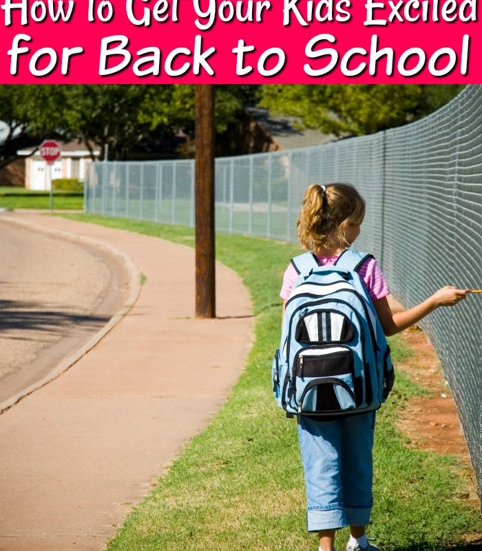 Fun Tips to Get Your Kids Excited for Back to School