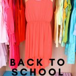 All of the clothing you need for school without breaking the bank. Here are some helpful tips and tricks to save money on back to school clothes for kids. #backtoschool #schoolclothing #frugalliving #frugalnavywife | Back To School | School Clothes Shopping | Frugal Living | Mom Life