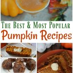 Celebrate fall with some of the best and easy pumpkin recipes out there from pumpkin desserts and pumpkin drinks to pumpkin breakfast recipes! #pumpkinrecipes #fall #autumn #pumpkinspice #frugalnavywife | Pumpkin Spice Recipes | Pumpkin Recipes | Dessert recipes | Soup Recipes | Drink Recipes