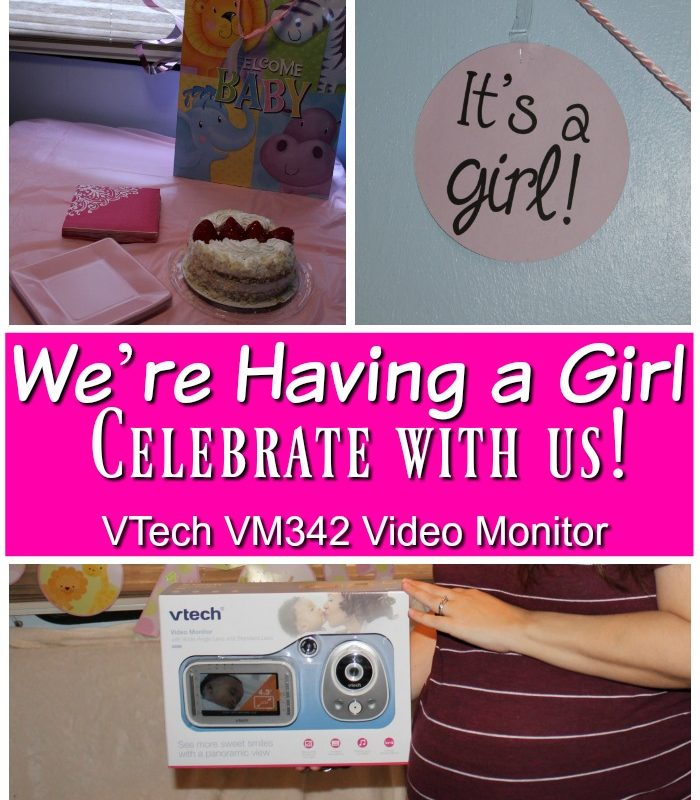 We're Having a Girl – Celebrate with us!