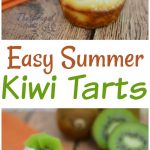 Looking for some great summer fruit tart recipes? This Kiwi cream tart recipe is easy to make tastes amazing and is a great way to get kids to eat kiwi! #frugalnavywife #kiwitart #recipe #desserts #easyrecipe   Summer Dessert Recipes   Kiwi Tarts   Tart Recipe   Kiwi Recipe   Desserts   Recipe   Easy Recipes