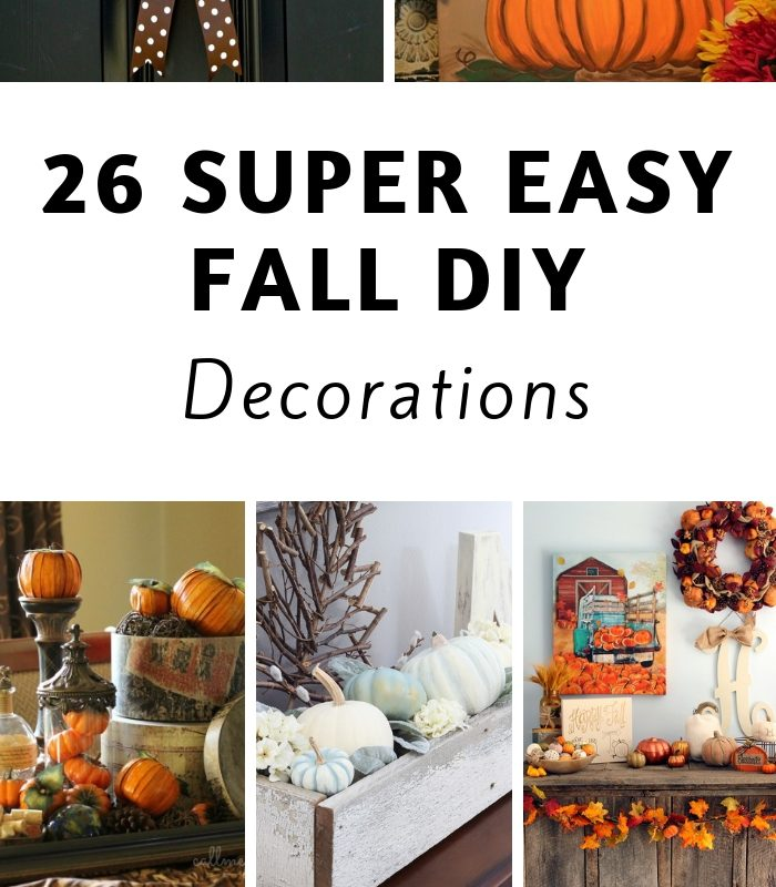 26 Easy DIY Fall Decor Projects