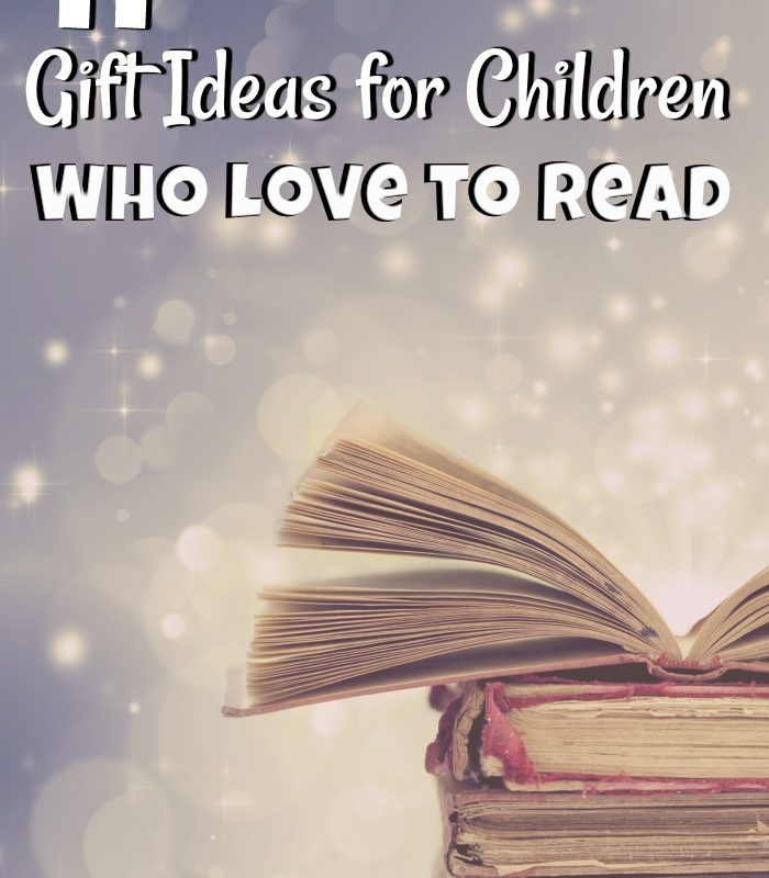 11 Christmas Gifts for Children Who Love to Read