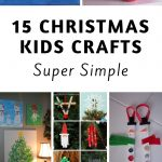 Keeping kids busy when it's cold outside is a task on its own! These 15 easy kids Christmas Crafts double as great gifts as well as decor! #christmas #kidscrafts #kidsactivities #frugalnavywife   Christmas   Kids Crafts for Christmas   Simple Kids Christmas Crafts   Christmas Crafts for Kids