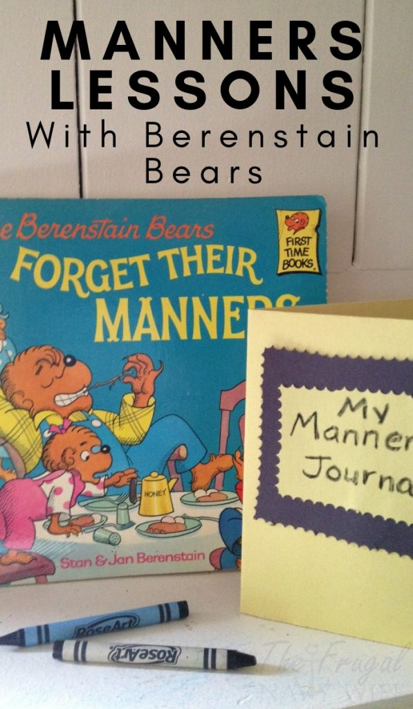 Every now and then children forget to use their manners. The Berenstain Bears Forget Their Manners is the perfect book for getting them back on track. #manners #kids #parenting #berenstainbears #frugalnavywife | Teaching Manners | Parenting | Kids | Berenstain Bears