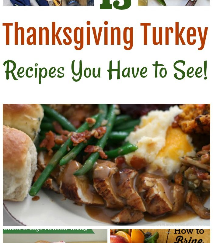 15 Thanksgiving Turkey Recipes You Have to See!