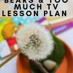 Turn a book into a great lesson for kids. The Berenstain Bears and Too Much TV was perfect to help kids unplug. Use these 3 activities to help kids explore this book further. #lessonplan #unitstudy #homeschool #frugalnavywife #unplug #berenstainbears   Unit study   Lesson Plan   Berenstain Bears Books   Homeschooling Lessons   Helping kids Unplug