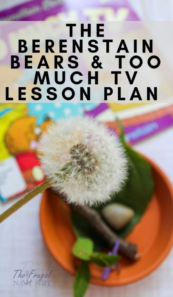 Turn a book into a great lesson for kids. The Berenstain Bears and Too Much TV was perfect to help kids unplug. Use these 3 activities to help kids explore this book further. #lessonplan #unitstudy #homeschool #frugalnavywife #unplug #berenstainbears | Unit study | Lesson Plan | Berenstain Bears Books | Homeschooling Lessons | Helping kids Unplug