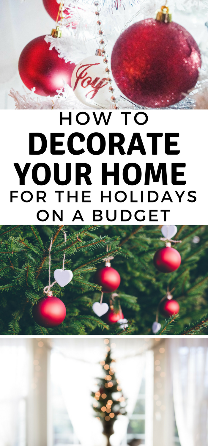 How to decorate your home for the holidays on a budget - How to decorate a house on a budget ...