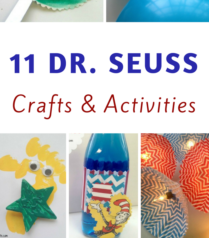 11 Dr Seuss Crafts and Activities