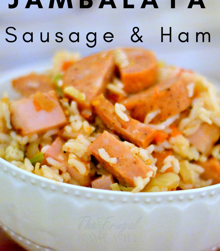 Sausage and Ham Easy Jambalaya Recipe for Mardi Gras