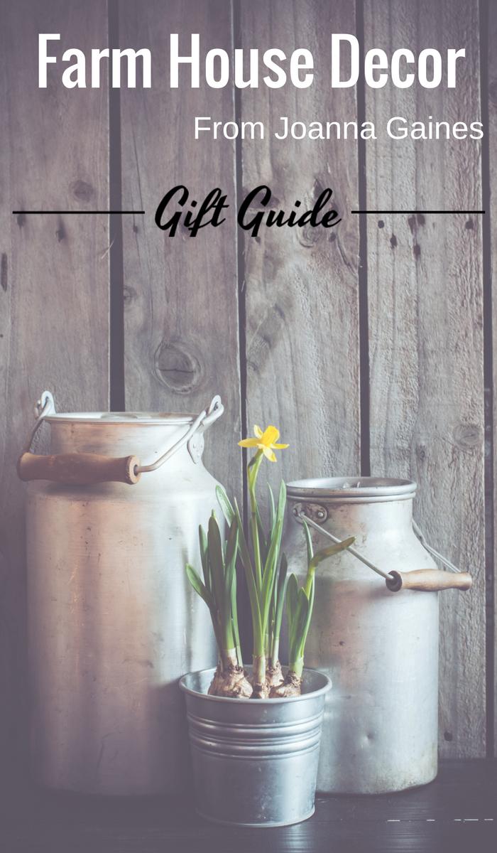 Chip And Joanna Gaines Farmhouse Style Decor Gift Ideas
