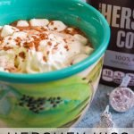 We have many different recipes but this Hershey Kiss Hot Chocolate Recipe is one of my favorite. It's rich and creamy and you just can't beat it!#hersheykiss #hotchocolate #frugalnavywife #drinkrecipe #easyrecipe | Easy Drink Recipe | Drink Recipe | Winter Recipe | Hot Chocolate Recipe | Hershey Kiss Recipe Ideas