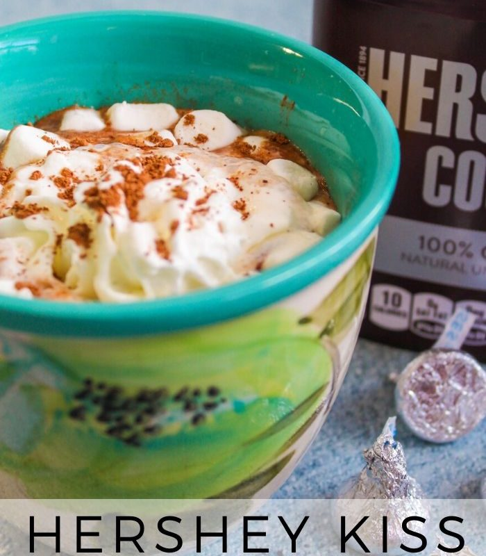 Rich and Creamy Hershey Kiss Hot Chocolate Recipe