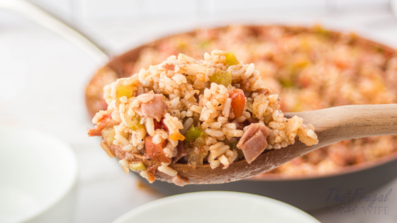 Sausage and Ham Easy Jambalaya Recipe