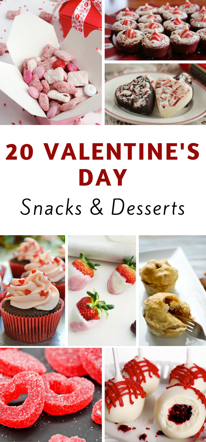 20 valentine 39 s day dessert ideas the frugal navy wife for Valentines day ideas wife