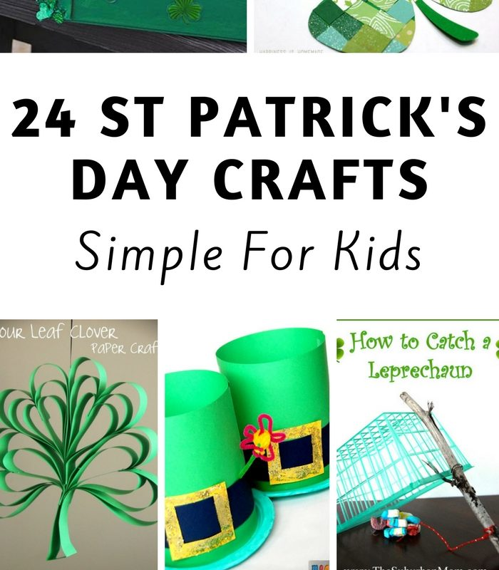 24 Easy and Fun St Patrick's Day Crafts
