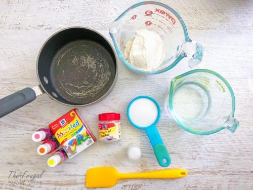 DIY Rainbow Playdough - Homemade Play Dough