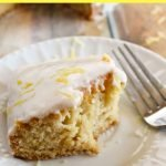 A lemony, dairy-free dessert recipe that will leave you wanting more! Lemon Depression Cake is moist and the process to make is very unique. #frugalnavywife #dessert #scratchrecipe #lemonrecipe #cakerecipe   Cake Recipes   Lemon Recipes   Desserts   Easy Dessert Recipes   From Scratch Baking Recipes   Dessert Recipe  